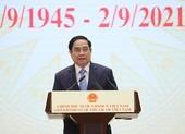 Thủ tướng: Việt Nam xác định lấy con người là trung tâm, là mục tiêu phát triển