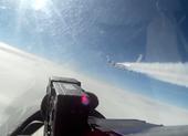 Nga tung tiêm kích Su-27 chặn trinh sát cơ Mỹ gần biên giới
