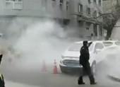 Ném bom đồn cảnh sát Trung Quốc, 3 người bị thương