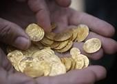 Phát hiện kho tiền vàng khổng lồ 1.000 năm tuổi