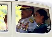Tân Quốc vương Thái Lan lần đầu xuất hiện trước dân