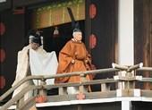 Nhật hoàng Akihito bắt đầu tiến hành nghi thức thoái vị