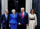 Những điểm nóng trong chuyến thăm Anh của ông Trump