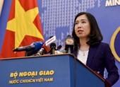 Bộ Ngoại giao lên tiếng việc Indonesia hủy tàu cá Việt Nam