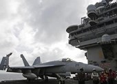 Tàu chiến uy lực của Mỹ-Nhật tập trận chung ở Biển Đông