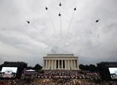 Mỹ trình diễn khí tài quân sự trong ngày Quốc khánh