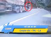 Video: Người hùng cứu xe tải tuột phanh trên cao tốc