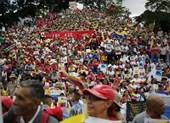 Người dân Venezuela biểu tình phản đối trừng phạt của Mỹ