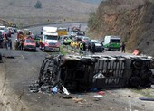 Ít nhất 23 người thiệt mạng trong tai nạn xe buýt ở Mexico