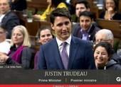 Video: Thủ tướng Canada xin lỗi vì ăn chocolate tại quốc hội