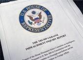Hạ viện công bố báo cáo điều tra ông Trump với nhiều cáo buộc