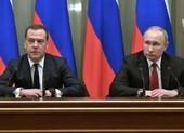 Thủ tướng Medvedev và chính phủ Nga từ chức