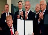 Ông Trump sắp công bố kế hoạch hòa bình Trung Đông 'tuyệt vời'