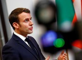 Ông Macron thăm bệnh viện có công dân Pháp tử vong vì COVID-19