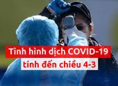 Toàn cảnh dịch COVID-19 ngày 4-3