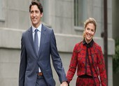 Thủ tướng Canada chủ động cách ly khi vợ dương tính COVID-19