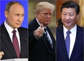 Mỹ, Nga, Trung Quốc trong cuộc đua khốc liệt vào vũ trụ