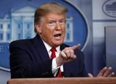 Ông Trump chính thức tuyên bố tạm ngừng hỗ trợ tài chính WHO