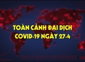 Toàn cảnh đại dịch COVID-19 ngày 27-4