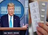 Ông Trump mâu thuẫn truyền thông Mỹ về loại thuốc ngừa COVID19
