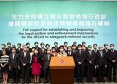 Luật an ninh Hong Kong: Bà Lâm ủng hộ, phương Tây quan ngại