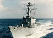 Tàu chiến Mỹ đi qua eo biển Đài Loan lần thứ hai trong tháng 4