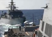 Tàu chiến Nga suýt va chạm tàu khu trục Mỹ trên biển Arab
