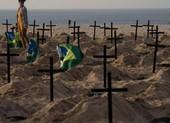 COVID-19: Brazil khả năng vượt Mỹ, có số người chết cao nhất