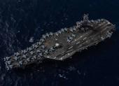 2 tàu sân bay Mỹ diễn tập sau khi ông Pompeo 'nhắn' Trung Quốc