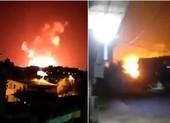 Nổ lớn khi nhiều căn cứ quân sự Syria bị Israel không kích