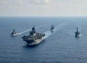 Tàu chiến Mỹ-Úc diễn tập những gì trên biển Đông?