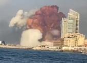 VIDEO: Nổ kinh hoàng ở Lebanon làm 78 người chết