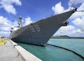 Trung Quốc phản ứng vụ khu trục hạm Mỹ băng eo biển Đài Loan