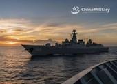 Trung Quốc tập trận đạn thật quy mô lớn tại Hoàng Hải
