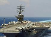 Nhóm tàu sân bay Mỹ mang tên lửa Tomahawk đến Địa Trung Hải