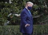 Phổi ông Trump bị tổn hại vì COVID-19, oxy trong máu giảm