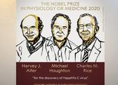 Nobel Y học vinh danh 3 nhà khoa học nghiên cứu viêm gan C