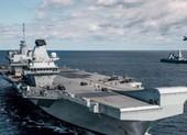Tướng quân đội Anh liên tục thúc đưa tàu sân bay tới Biển Đông