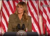 Đại hội đảng Cộng hòa: Bà Melania Trump phát biểu ủng hộ chồng