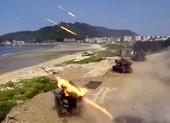 Trung Quốc tập trận chiếm đảo ở bán đảo đối diện Đài Loan