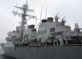 Mỹ lại điều tàu chiến đi qua eo biển Đài Loan