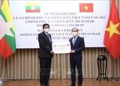 Việt Nam hỗ trợ Myanmar phòng, chống dịch COVID-19