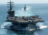 Mỹ điều tàu sân bay trở lại Vịnh Ba Tư giữa bất ổn Trung Đông