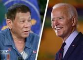 Có gì trong thư chúc mừng của ông Duterte gửi ông Biden?