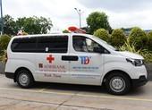 Agribank tài trợ Bệnh viện TP. Thủ Đức xe cứu thương