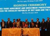 Việt Nam và EU chính thức ký kết hiệp định thương mại tự do