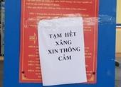 Nhiều cây xăng ở Quảng Nam đột ngột báo hết xăng