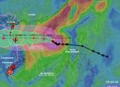 Bão số 8 tăng cấp khi cách Hoàng Sa 360km, biển động dữ dội