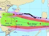Biển Đông sắp có bão số 9, hướng vào Nam Trung bộ