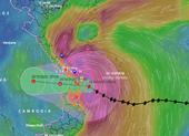 Chùm ảnh: Những thiệt hại ban đầu khi bão số 9 áp sát đất liền